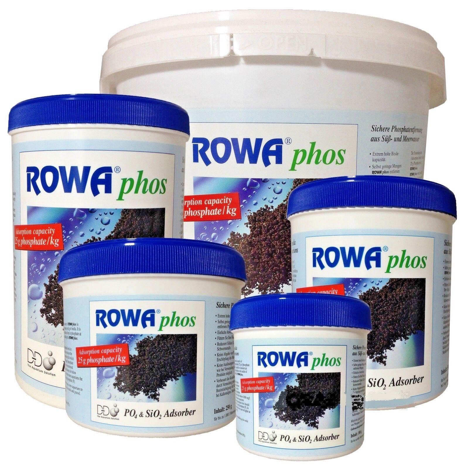 DD ROWAPHOS 100  250  500  1000  5000  ACQUARIO Fosfato Remover GFO
