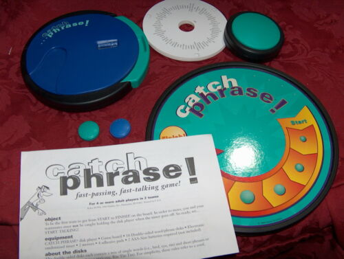 ORIGINAL CATCH PHRASE Game! 1994 Parker Brothers game - COMPLETE!  3/6