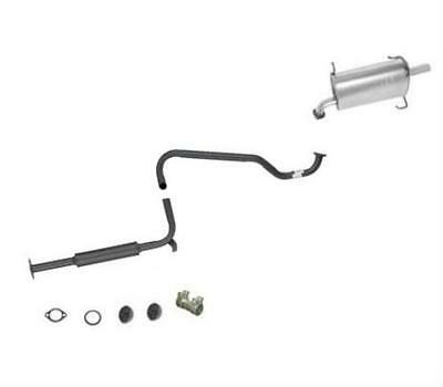 Muffler Exhaust Pipe System California Emission 51572 Fits 97 Altima 2.4L Engine