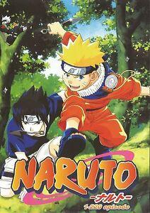 Detalles acerca de Inglés llamado ~ Naruto: Temporada 1, apartado 1 - 220  Episodio) ~ 10-DVD ~ Japón Anime- mostrar título original