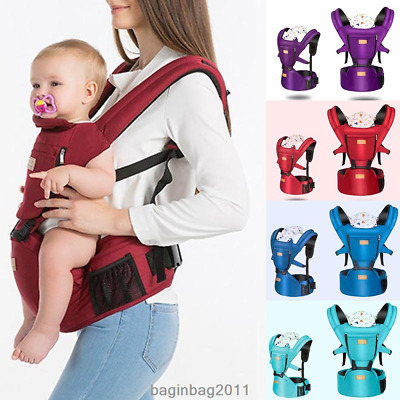 Baby Carrier Kids Toddler Newborn Waist Hip Seat Wrap Walker Belt Sling Hold US