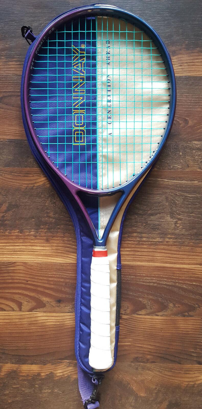 womeny WST Cobalt OS Tennis Racquet - VG Condition - 4 3 8 Grip