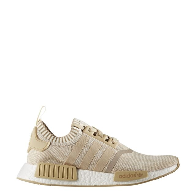 305bd0bd7 Mens adidas NMD R1 Primeknit Linen Khaki off White By1912 US 8.5 for ...