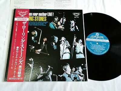 ROLLING STONES HAVE YOU SEEN YOUR MOTHER LIVE! JAPAN ORIGINAL SLC-170 W/RED OBI