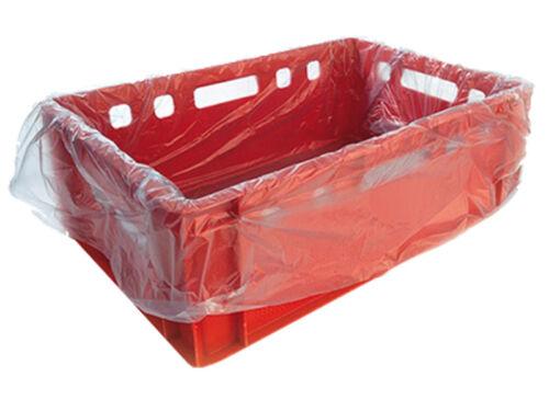 312018 500 Boxes Bags for E3-E2 Boxes 65+45x65cm Transparent