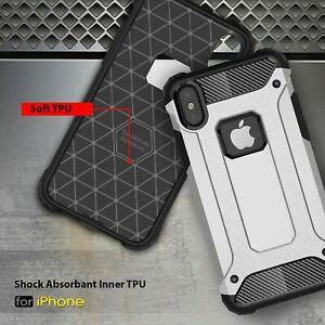 For Apple iPhone 11 Pro Max XR Xs X 8 7 Plus 6 5 Se Case Cover Impact Heavy Duty