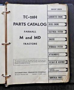 GENUINE 1953 INTERNATIONAL HARVESTER FARMALL M & MD TRACTOR