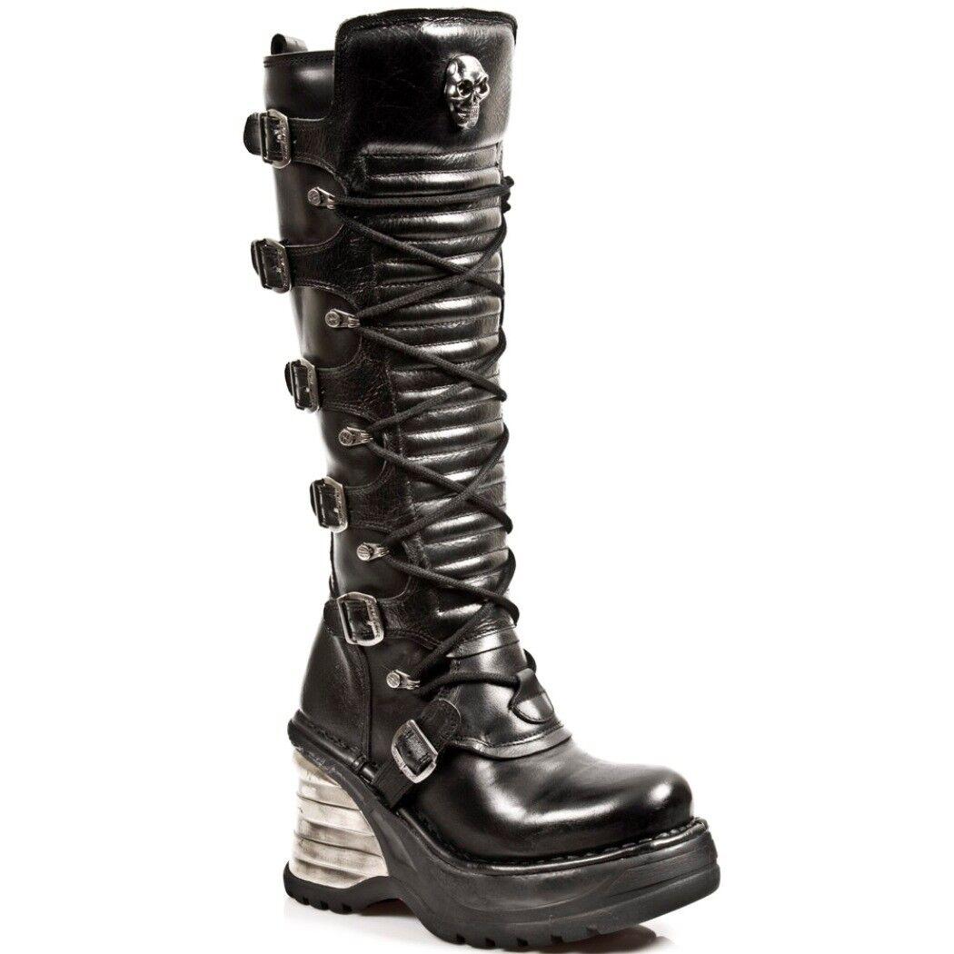 vendita economica Newrock NR NR NR M.8272 S1 Nero-New Rock stivali-Da Donna  il miglior servizio post-vendita