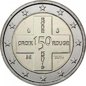 Belgium-2014-2-euro-Rode-Kruis-Croix-rouge