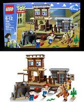 - Toy Story Woody's Roundup - Lego 7594 4 Minifigs Prospector Bullseye