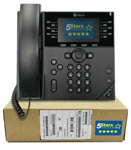 Polycom VVX 450 Business IP Phone (2200-48840-025) Brand New, 1 Year Warranty