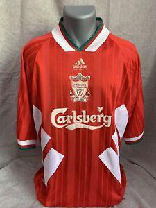 Liverpool Home Shirt 1993/94 Original X-Large Rare And Vintage