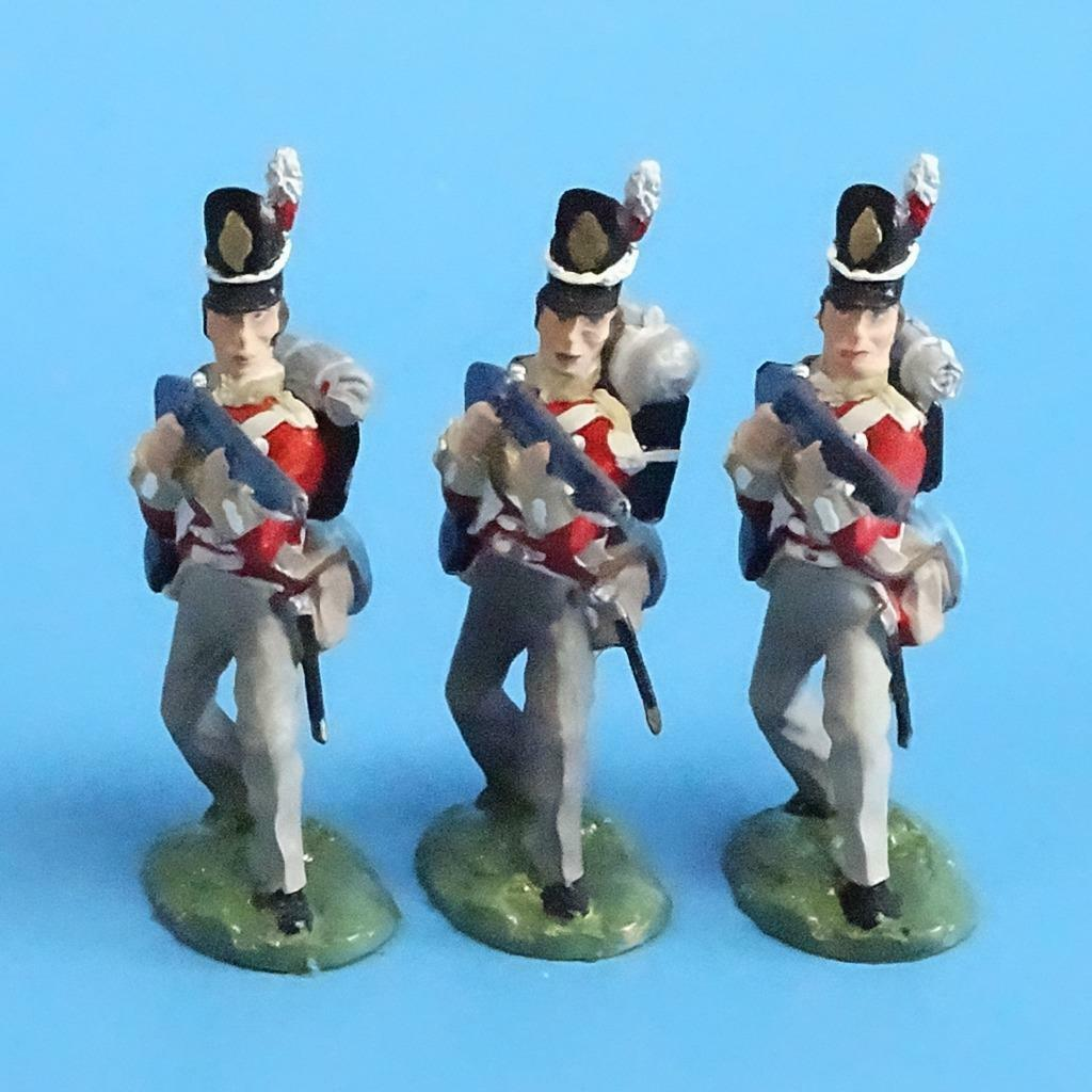 CORD-N0166 - British Infantry - Standing Firing (3 Pieces) - Napoleonics