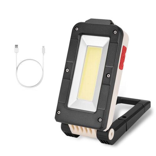 XPE COB LED Car Work Light 2000LM magnetic Folding Flashlight Camping Torch Lamp