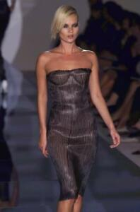 6a63528dab3 Image is loading Gucci-by-Tom-Ford-Spring-2001-Leather-Runway-