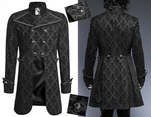 Gothique Velours Lys Fleur De Dandy Veste Baroque Motifs Manteau vSBnxzwqO5
