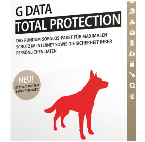 1 von 1 - G DATA Total Protection *1-PC / 1-Jahr* DEUTSCH / GDATA / 2016 / 2017 / KEY