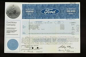 research paper on ford motor company