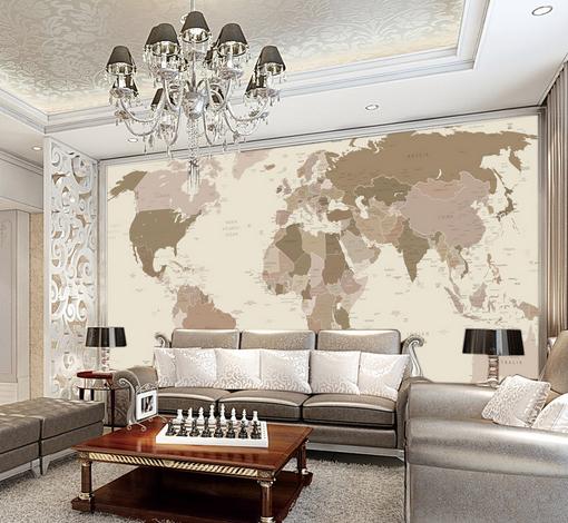 3D 3D 3D Sketch Map 416 Paper Wall Print Wall Decal Wall Deco Indoor Murals 807fd0