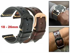 18-26mm-Leather-Watch-Band-Vintage-Luxury-Strap-For-Panerai-Citizen-Casio-SEIKO