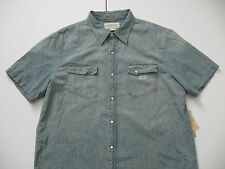 DENIM & SUPPLY RALPH LAUREN Men's 100% Cotton Chambray Western Shirt XL