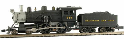 MODEL POWER 87623 N SCALE Baltimore & Ohio Steam 4-4-0 American NEW