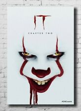 IT Chapter 2 Poster 2019 Horror Movie Stephen King Silk Canvas Poster 24x36/'/'