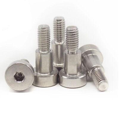 Socket Shoulder Screws//Shoulder Bolts M5 X 50MM Pack of 100