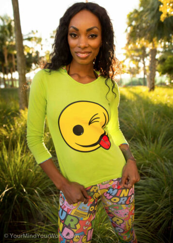Cute Cotton Sweatshirt for Girls Smiley Face Teens Kids Clothes Womens Clothing