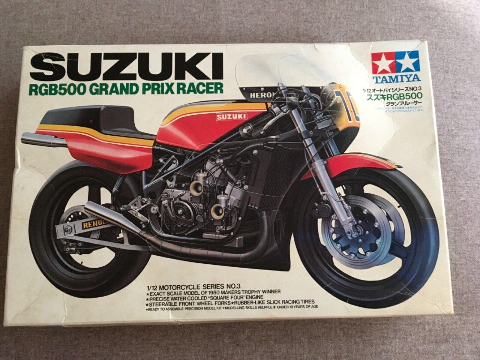 1  12 Tamiya Suzuki RBG500 Grand Prix Racer.