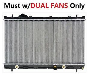 2362 Radiator for Dodge Chrysler Plymouth Neon 02-04 SX 2.0 L4 Dual Fan 4 Speed