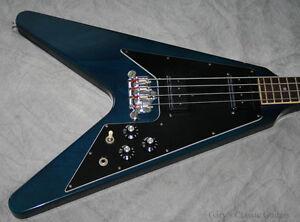 Image Is Loading 1982 Gibson Flying V Bass GIB0100