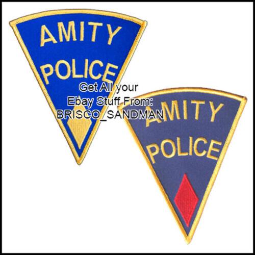 Fridge Fun Refrigerator Magnet JAWS MOVIE Amity Island Police Shoulder Patch 70s