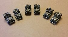 15mm  LRDG  SAS  Jeeps  x 6  British WWII  painted Flames of War Fow