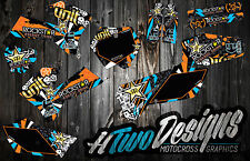 KTM 125 250 200 300 450 SX SXF EXC EXC-F 2005-2006 GRAPHICS DECAL KIT STICKERS
