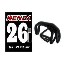 KENDA MTB 26 x 1.9-2.125 Mountain Bike Bicycle Inner Tube SV AV For XC AM DH FR