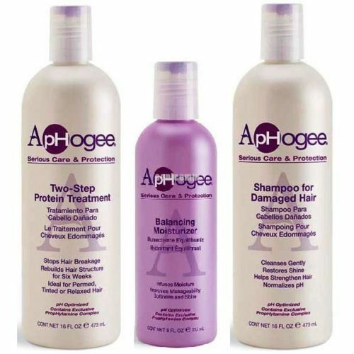 Aphogee Two Step Protein Treatment Shampoo For Damaged
