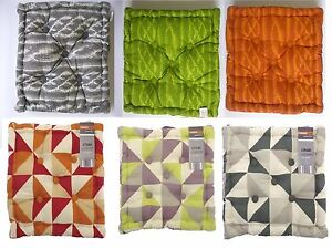 Image Is Loading Box Seat Pads Boxed Cushions Cotton Bolsters Outdoor
