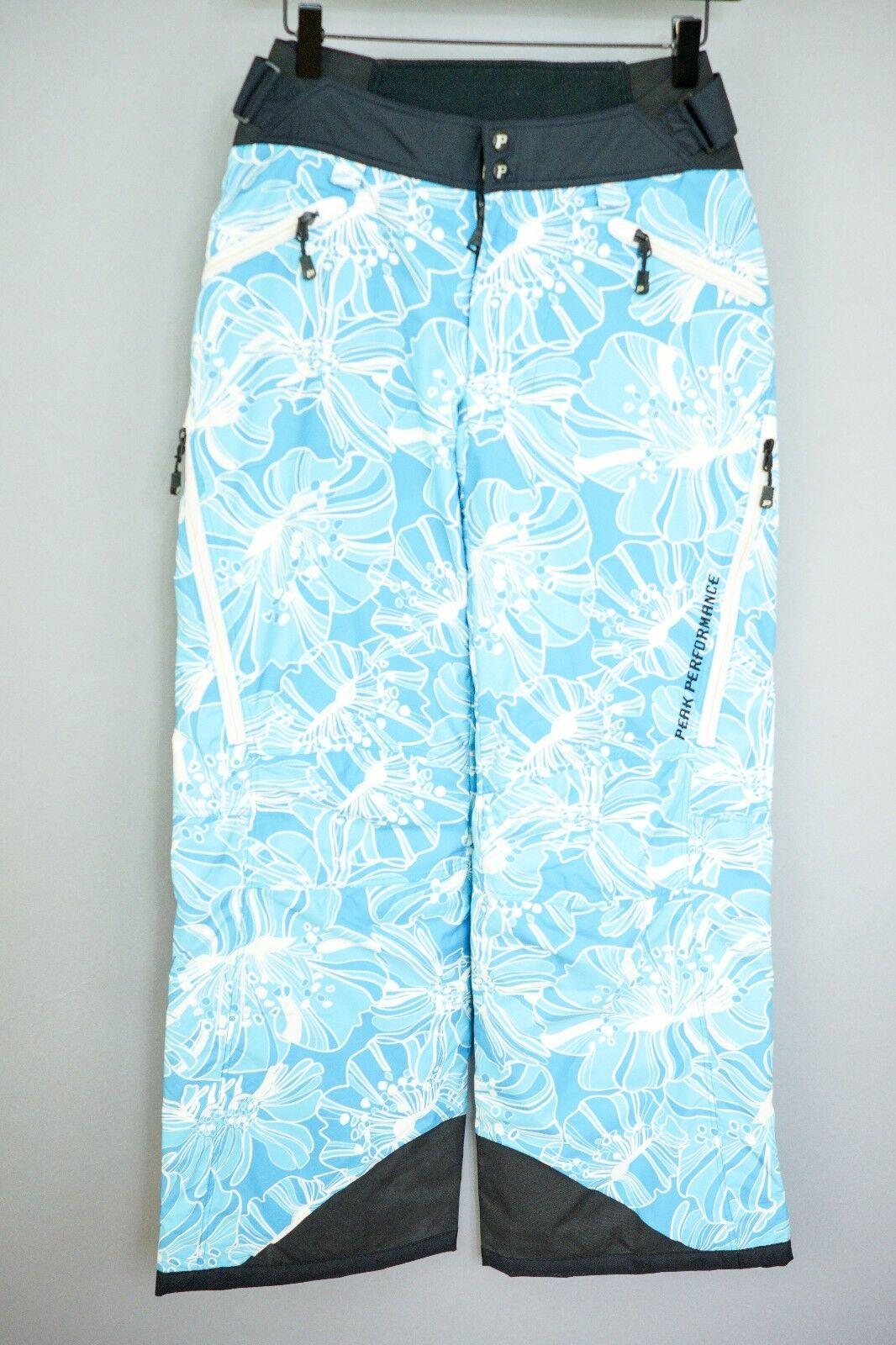 XII400 Women Peak Performance  Hipe Fleur SkiingSnowboarding Trousers XS W28 L30  discount promotions