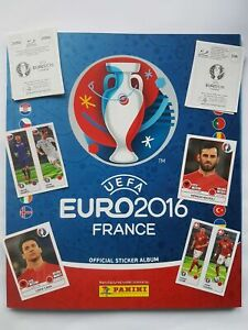 PANINI-UEFA-EURO-2016-em16-France-5-10-50-100-Stickers-choisir-images-paillettes