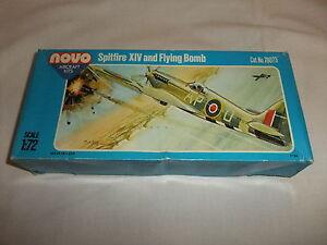 FäHig Flugzeug Modell Bausatz 1:72 Novo Supermarine Spitfire Xiv 2. Weltkrieg England 2019 New Fashion Style Online