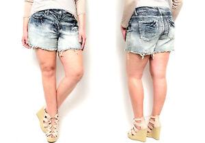 Acid Acquista jeans da 12 ~ Trends di Ombre The Pantaloncini 18 donna Washed Size Aq6AZ