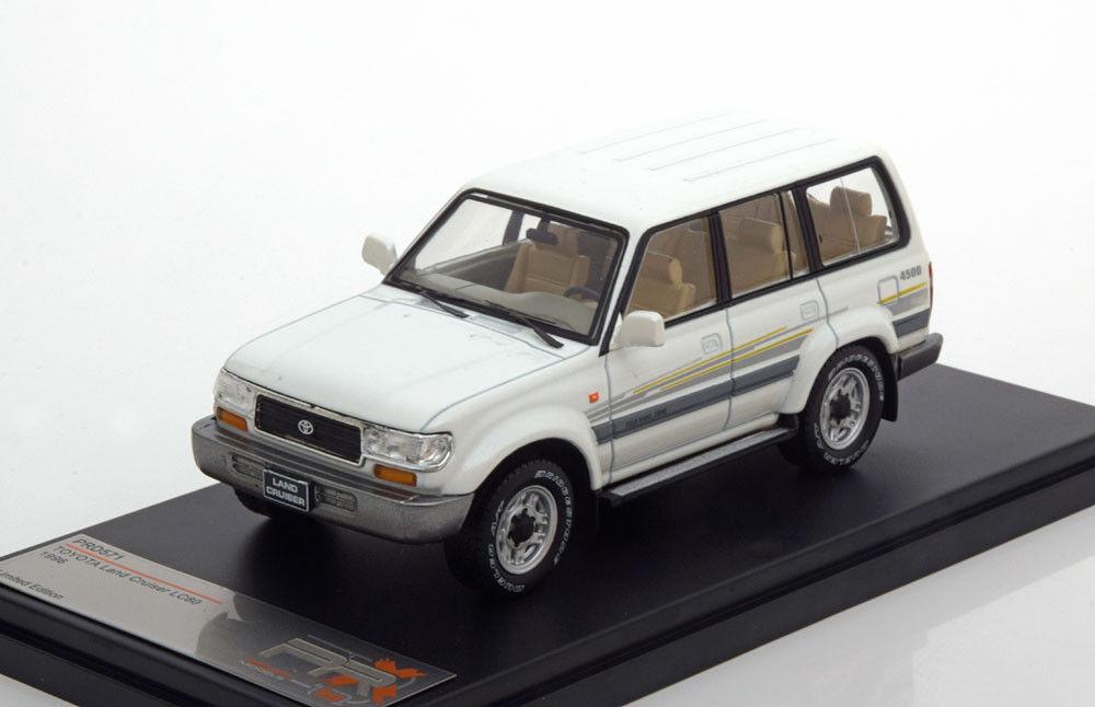 TOYOTA LAND CRUISER lc80 4 х 4 1996 Metallic bianca 1:43 Premium X