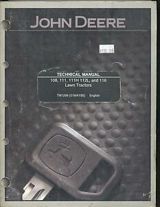 John Deere 116 Manual free