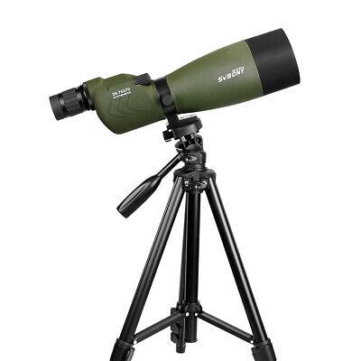 SVBONY SV17 25-75x70mm Spective BAK4 Porro FMC Waterproof Zoom Telescope UK
