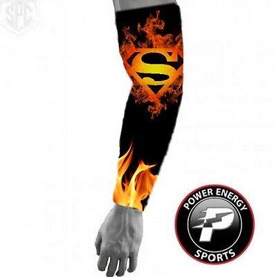 Titanium Sports Compression Dri-Fit Bras Manches Football flammes