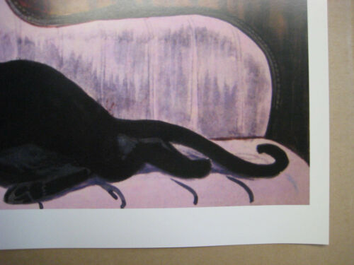 Haunted Mansion Cat Woman 2 Vintage Disney Collector/'s Painting Print B2G1F