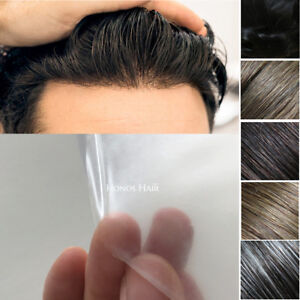 Details about Ultra Thin Skin Hair Replacement