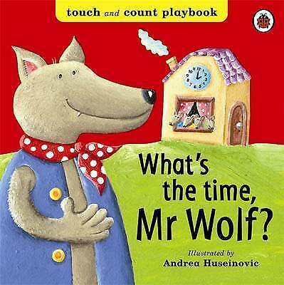 What's the Time, Mr Wolf? (Board Books), Ladybird, Excellent Book