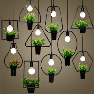 Modern geometry led pendant lamp plant ceiling light hanging la foto se est cargando modern geometry led pendant lamp plant ceiling light aloadofball Images